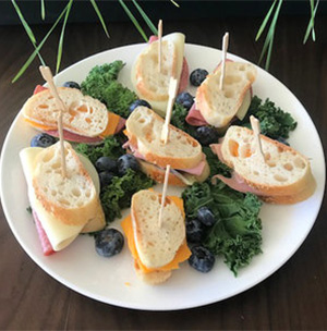 charter food platters